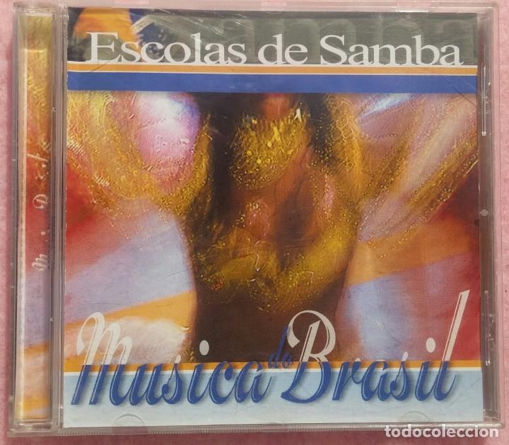 ESCOLAS DE SAMBA - MÚSICA DO BRASIL (NAIMARA PRODUCCIONES, 2003) // BOSSA NOVA AXÉ FORRÓ SALSA MAMBO (Música - CD's World Music)