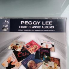 CDs de Música: PEGGY LEE ‎– EIGHT CLASSIC ALBUMS (4 CDS - 8 ALBUMES). Lote 169109940