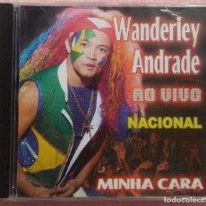 CDs de Música: WANDERLEY ANDRADE - MINHA CARA AO VIVO NACIONAL (ATRAÇAO FONOGRÁFICA, 2004) /// ED. BRASIL ORIGINAL. Lote 169110620