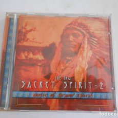 CDs de Música: THE SACRET SPIRIT-2-CD MUSIC OF GRAND SPIRIT. Lote 169118868