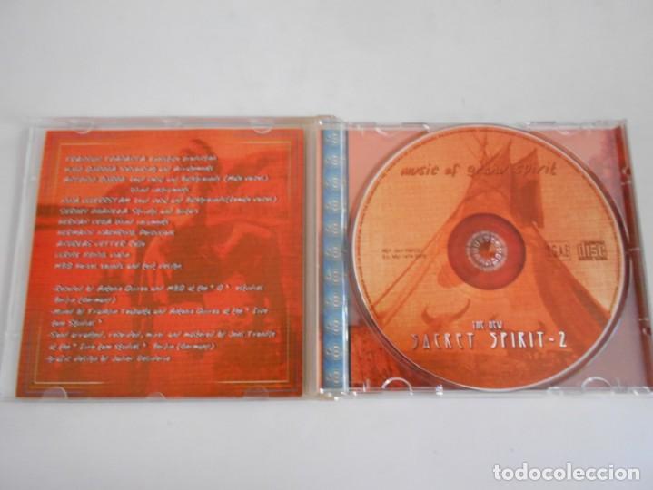 CDs de Música: THE SACRET SPIRIT-2-CD MUSIC OF GRAND SPIRIT - Foto 2 - 169118868
