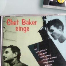 CDs de Música: CHET BAKER – CHET BAKER SINGS. Lote 169130160