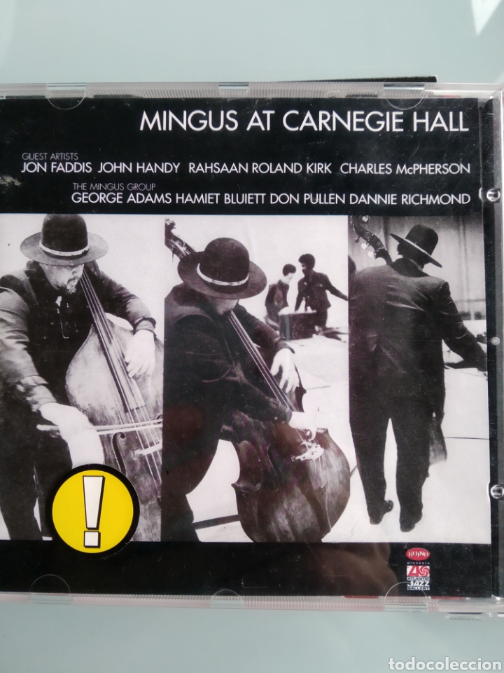 CHARLES MINGUS – MINGUS AT CARNEGIE HALL (Música - CD's Jazz, Blues, Soul y Gospel)