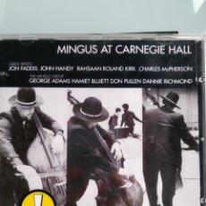 CDs de Música: CHARLES MINGUS – MINGUS AT CARNEGIE HALL. Lote 169130272