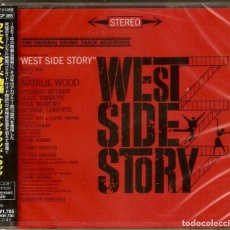 CDs de Música: WEST SIDE STORY / LEONARD BERNSTEIN & STEPHEN SONDHEIM CD BSO - JAPAN. Lote 169130464