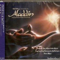 CDs de Música: ALADDIN / ALAN MENKEN CD BSO - JAPAN. Lote 169135776