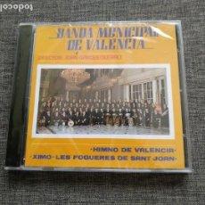 CDs de Música: CD BANDA MUNICIPAL DE VALENCIA - JOAN GARCES QUERALT - NUEVO / PRECINTADO !!!!!!. Lote 262146935