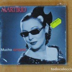 CDs de Música: MARTIRIO - MUCHO CORAZON - CD. Lote 169178210