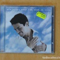 CDs de Música: ALEJANDRO SANZ - EL ALMA AL AIRE - CD. Lote 169178534