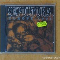 CDs de Música: SEPULTURA - EUROPE 1991 - CD. Lote 169179052