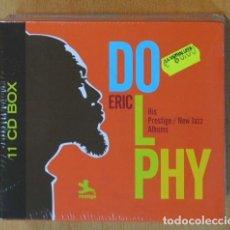 CDs de Música: ERIC DOLPHY - HIS PRESTIGE / NEW JAZZ ALBUMS - BOX - 11 CD. Lote 169179358