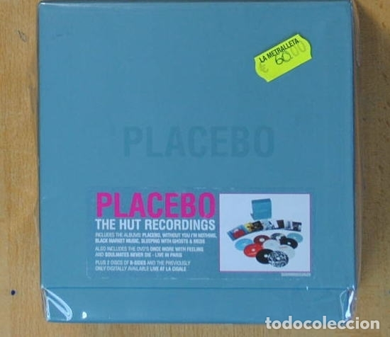 PLACEBO - THE HUT RECORDINGS + 2 DVD - BOX - 8 CD (Música - CD's Rock)