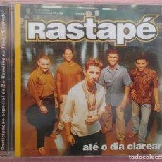CDs de Música: RASTAPÉ - ATÉ O DIA CLAREAR (ABRIL MUSIC, 2002) /// ED. BRASIL ORIGINAL, RARO /// SAMBA / AXÉ FORRÓ. Lote 169209496