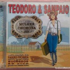 CDs de Música: TEODORO & SAMPAIO - MULHER CHORONA, 2CD (INDIE RECORDS, 2003) // ED. BRASIL ORIGINAL, RARO /// SAMBA. Lote 169210060