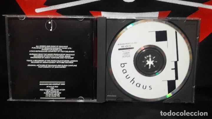 CDs de Música: BAUHAUS - BURNING FROM THE INSIDE BBL 45CD BUEN ESTADO - Foto 2 - 169225368