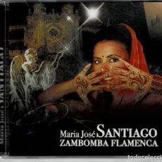 CDs de Música: MARIA JOSE SANTIAGO - ZAMBOMBA FLAMENCA / CD ALBUM DE 2010 RF-2250 , PERFECTO ESTADO. Lote 192074291
