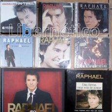 CDs de Música: RAPHAEL - CD + DVD + LIBROS. 12 LOTES NUEVOS. Lote 169326236