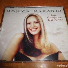 CDs de Música: MONICA NARANJO LAS CAMPANAS DEL AMOR REMIXES CD MAXI SINGLE PORTADA PLASTICO 1998 CONTIENE 4 TEMAS. Lote 169338442