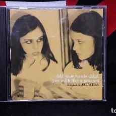 CDs de Música: BELLE & SEBASTIAN - FOLD YOUR HANDS CHILD YOU WALK LIKE A PEASANT JPRCD 010 BUEN ESTADO. Lote 169340360