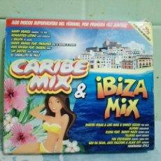 CDs de Música: IBIZA MIX + CARIBE MIX 2015 4 CD S . Lote 169343340