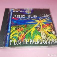CDs de Música: CS-CARLOS MEJÍA GODOY Y LOS DE PALACAGÜINA-SON TUS PERJUMENES MUJER-VER FOTOS. Lote 169354508