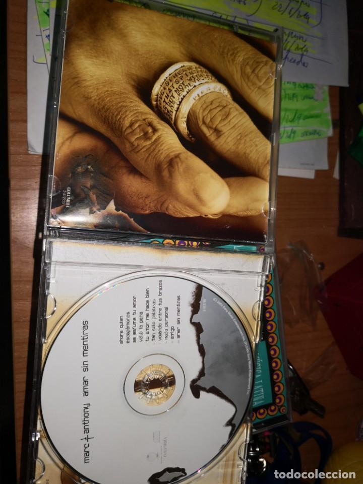 CDs de Música: Cd MARC ANTHONY. AMAR SIN MENTIRAS - Foto 3 - 169355540