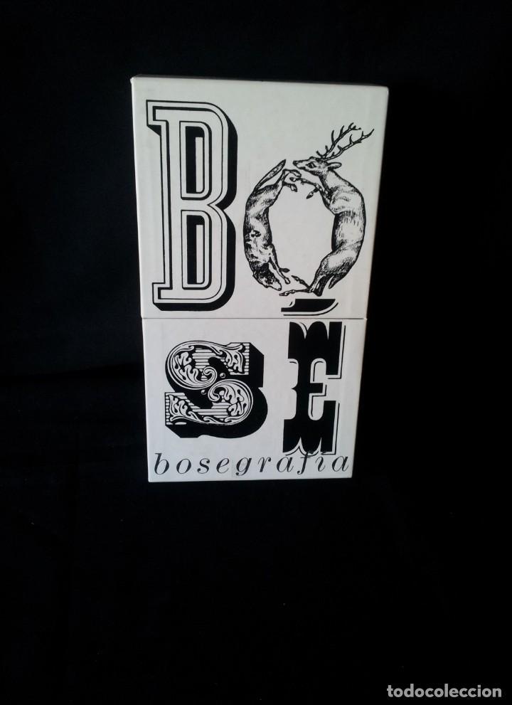 MIGUEL BOSE - BOSEGRAFIA CON 10 CD Y 2 DVD - CONTIENE LIBRO (Música - CD's Pop)