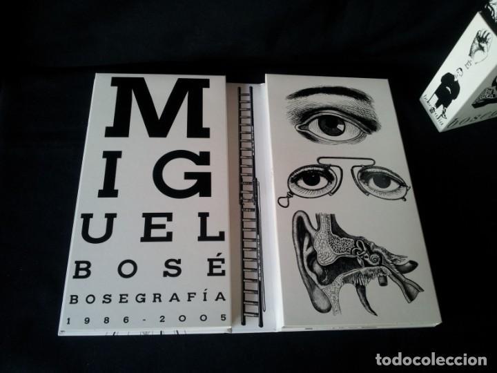 CDs de Música: MIGUEL BOSE - BOSEGRAFIA CON 10 CD Y 2 DVD - CONTIENE LIBRO - Foto 3 - 169363212