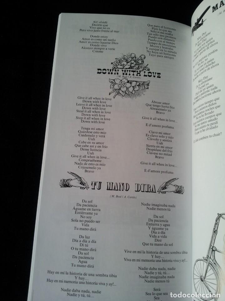 CDs de Música: MIGUEL BOSE - BOSEGRAFIA CON 10 CD Y 2 DVD - CONTIENE LIBRO - Foto 10 - 169363212