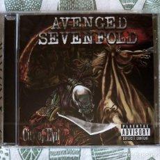 CDs de Música: AVENGED SEVENFOLD - CITY OF EVIL CD NUEVO Y PRECINTADO - HEAVY METAL HARD ROCK. Lote 169444304