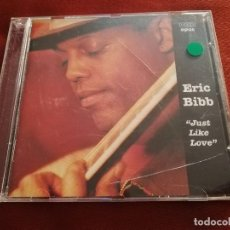 CDs de Música: ERIC BIBB, JUST LIKE LOVE (CD). Lote 169575216
