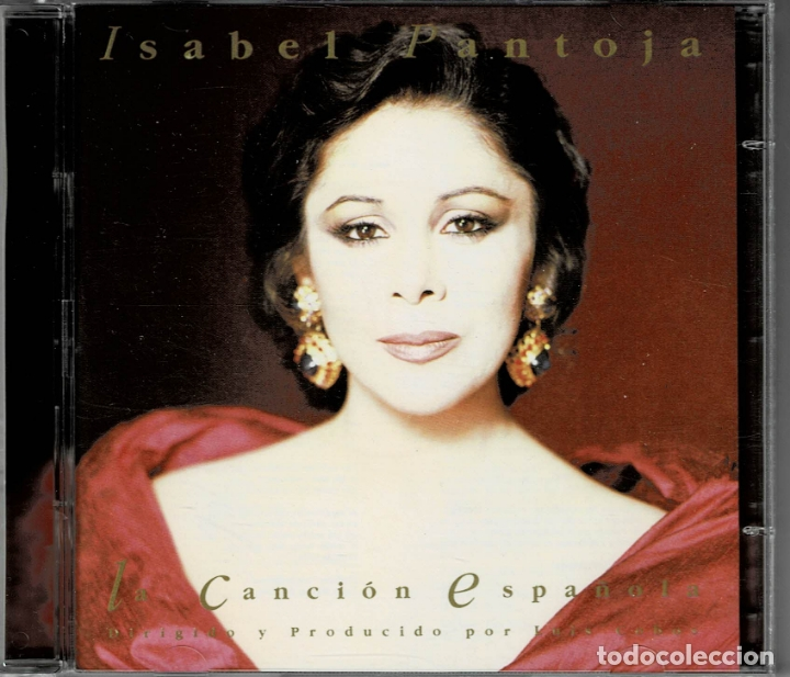 CDs de Música: ISABEL PANTOJA - LA CANCION ESPAÑOLA / DOBLE CD DE 1990 RF-2258 , PERFECTO ESTADO - Foto 1 - 169608396
