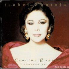 CDs de Música: ISABEL PANTOJA - LA CANCION ESPAÑOLA / DOBLE CD DE 1990 RF-2258 , PERFECTO ESTADO. Lote 169608396