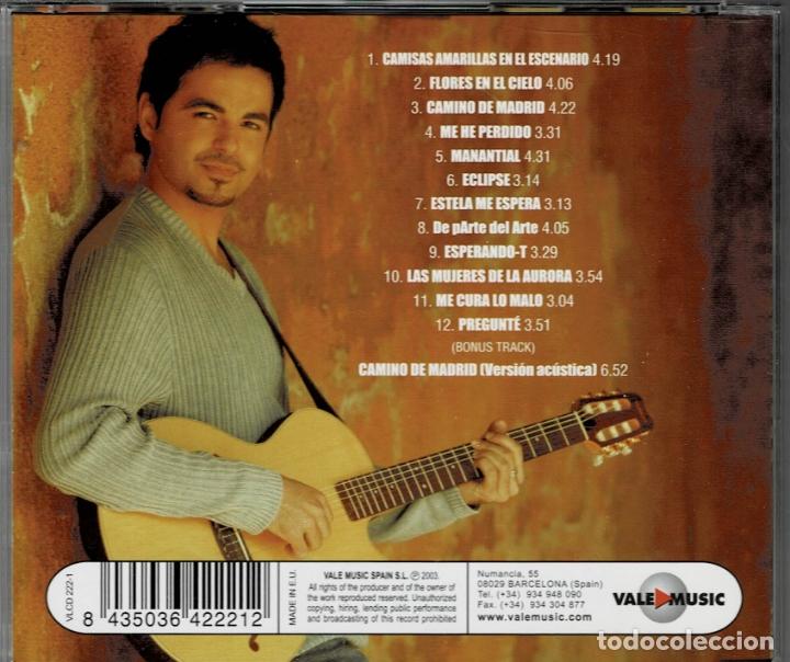 CDs de Música: PEDRO JAVIER HERMOSILLA - AMULETO DE AGUA ERRANTE CD ALBUM DE 2003 RF-2262 , PERFECTO ESTADO - Foto 2 - 169608884