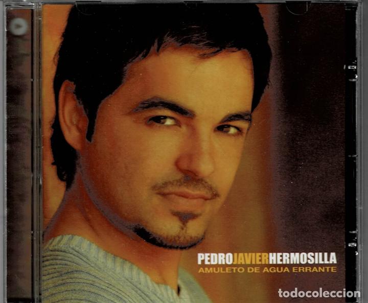 PEDRO JAVIER HERMOSILLA - AMULETO DE AGUA ERRANTE CD ALBUM DE 2003 RF-2262 , PERFECTO ESTADO (Música - CD's Pop)