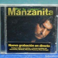 CDs de Música: LMV - MANZANITA. POR TU AUSENCIA. CD. Lote 169619348