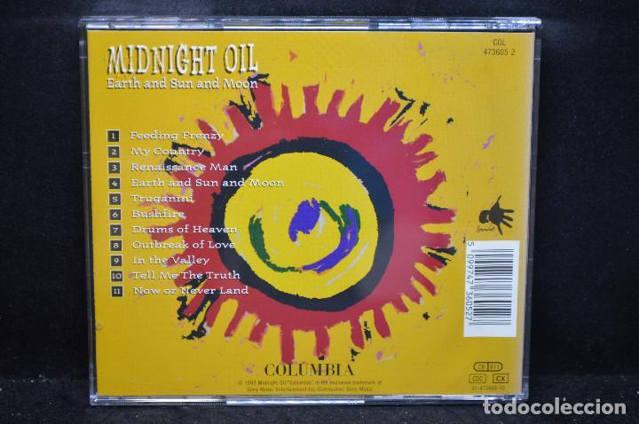 CDs de Música: Midnight Oil - Earth And Sun And Moon - CD - Foto 2 - 169673284