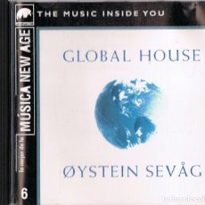 CDs de Música: OYSTEIN SEVAG GLOBAL HOUSE (CD). Lote 169681568