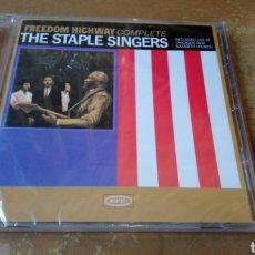 CDs de Música: THE STAPLE SINGERS–FREEDOM HIGHWAY COMPLETE - CD PRECINTADO -. Lote 169688209