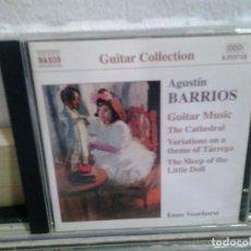 CDs de Música: LMV - AGUSTIN BARRIOS. GUITAR MUSIC, VOL. 2. CD . Lote 169715764