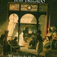 CDs de Música: LUIS DELGADO - EL SUEÑO DE AL-ZAQQAQ - CD ALBUM - 12 TRACKS - NUBE NEGRA 1997. Lote 169755260