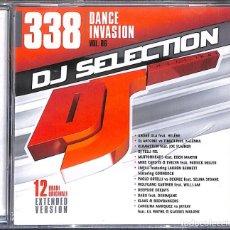 CDs de Música: CD DJ SELECTION 338: DANCE INVASION VOL. 86 - PRECINTADO. Lote 169765132
