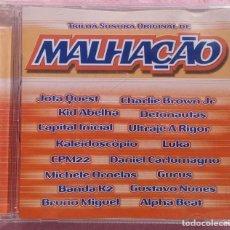 CDs de Música: MALHAÇAO - TRILHA SONORA ORIGINAL (SOM LIVRE, 2003) /// ED. BRASIL ORIGINAL, RARO // SAMBA AXÉ FORRÓ. Lote 169798716