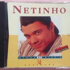 CDs de Música: NETINHO - MINHA HISTORIA (MERCURY / POLYGRAM, 1997) /// ED. BRASIL ORIGINAL, RARO // SAMBA AXÉ FORRÓ. Lote 169798848