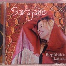 CDs de Música: SARAJANE - REPÚBLICA LATINA (ABRIL MUSIC, 2002) /// ED. BRASIL ORIGINAL, RARO /// SAMBA / AXÉ FORRÓ. Lote 169798988