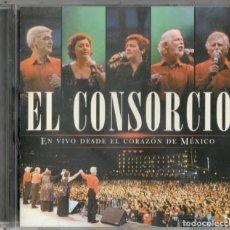 CDs de Música: EL CONSORCIO CD EN VIVO DESDE EL CORAZÓN DE MÉXICO 2003 MOCEDADES. Lote 169810808