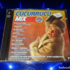 CDs de Música: CUCURRUCU MIX - 2 CD - CO-30005-CDTV - MAX MUSIC - PRECINTADO - JULIO POSADAS - KRYSS .... Lote 169811472