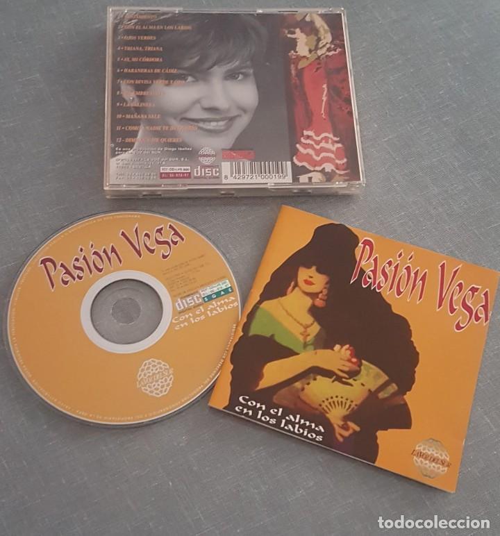 PASION VEGA CON EL ALMA EN LOS LABIOS ( MUY DIFICIL DE VER ) (Música - CD's Flamenco, Canción española y Cuplé)