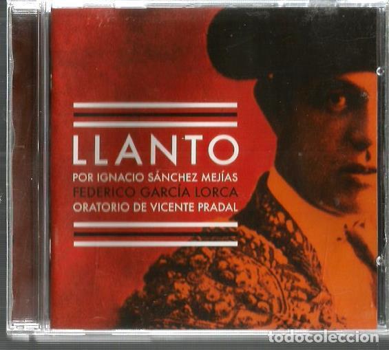 CD LLANTO POR IGNACIO SANCHEZ MEJIAS ( FEDERICO GARCIA LORCA ) ORATORIO DE VICENTE PRADAL (Música - CD's Otros Estilos)