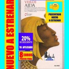 CDs de Música: VERDI - AIDA - EL PAÍS - 1871 LIBRETO DE ANTONIO GHISLANZONI CAMILLE DU LOCLE - PRECINTADO NUEVO 8 €. Lote 169840884